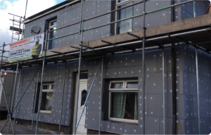 burton on Trent external insulation